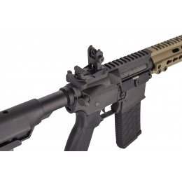 Lancer Tactical Airsoft M4 SMR AEG Black Jack Carbine - DARK EARTH