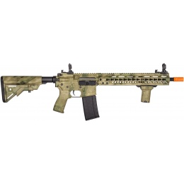 Lancer Tactical Airsoft M4 SMR AEG Black Jack Carbine - ATFG