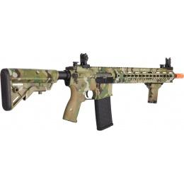 Lancer Tactical Airsoft M4 SMR AEG Black Jack Carbine - MULTICAM