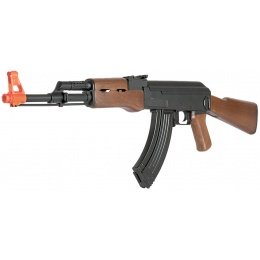 CYMA Airsoft CM200 AK47 Polymer Gearbox LPAEG Rifle - BLACK