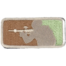 UK Arms Airsoft Tactical Velcro Patch - CAMO