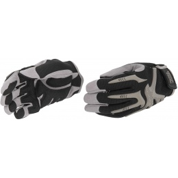 UK Arms Airsoft Tactical Impact Pro Gloves Medium - BLACK/TAN