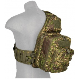 Lancer Tactical Airsoft QR Shoulder Messenger Bag - PC GREEN