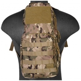 Lancer Tactical Airsoft MOLLE Hydration Carrier Backpack - CAMO