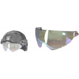 Lancer Tactical Airsoft Helmet Mirror Lens - MIRROR