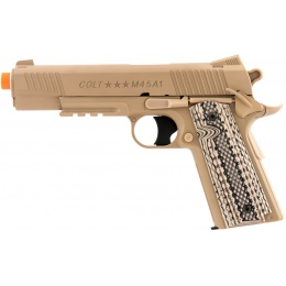 Cybergun Colt M45A1 CO2 M1911 Non-Blowback Airsoft Pistol  - DESERT TAN