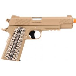 Cybergun Colt M45A1 CO2 M1911 Non-Blowback Airsoft Pistol  - DESERT TAN
