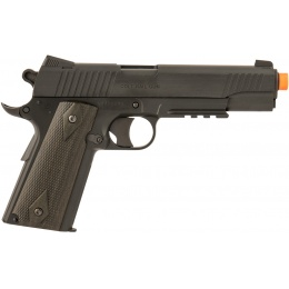 Cybergun Colt M45A1 CO2 M1911 Non-Blowback Airsoft Pistol - BLACK
