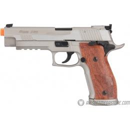 Cybergun Sig Sauer Metal X-Five P226 CO2 GBB Airsoft Pistol - SILVER