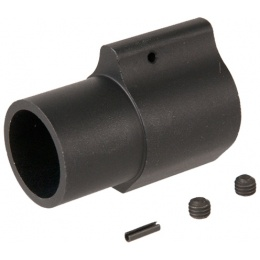 Lancer Tactical Airsoft Low-Pro AEG Gas Block - BLACK