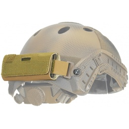 Lancer Tactical Airsoft Helmet Counterweight Pouch - DE