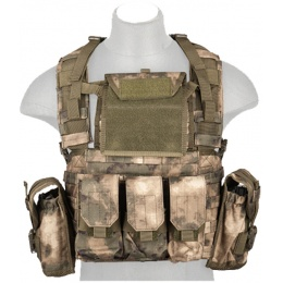 Lancer Tactical Airsoft M4/M16 MOLLE Modular Chest Rig - AT-FG