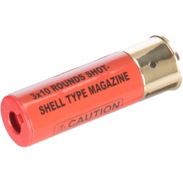 Double Eagle M56 Single Airsoft Shotgun Shell Type Magazine - RED