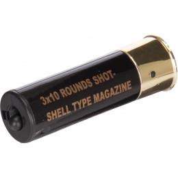 Double Eagle M56 Single Airsoft Shotgun Shell Type Magazine - BLACK