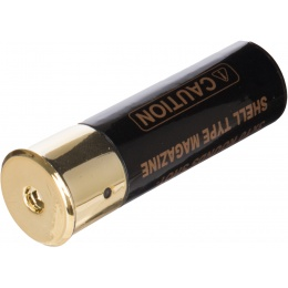 Double Eagle M56 Single Airsoft Shotgun Shell Type Magazine - BLACK