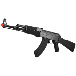 JG Full Metal Gearbox Tactical AK47 Airsoft AEG Rifle - BLACK
