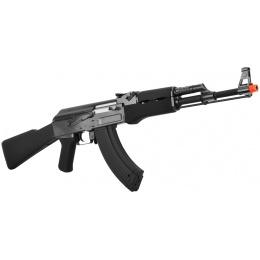 JG Full Metal Gearbox Tactical AK47 Airsoft AEG Rifle - BLACK