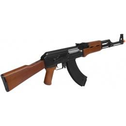 JG Full Metal Gearbox AK47 Airsoft AEG Rifle - IMITATION WOOD