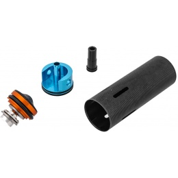 Lonex Airsoft MP5-A4/A5/SD5/SD6 Mushroom Type Piston Head Cylinder Set