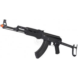 JG Full Metal Gearbox Folding Stock AK47S Airsoft AEG Rifle - BLACK