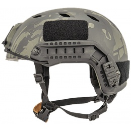 Lancer Tactical ACH Base Jump Tactical Gear Helmet - CAMO BLACK - L/XL