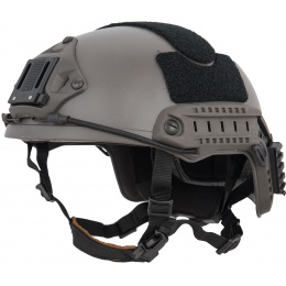 Lancer Tactical Airsoft Ballistic MH Type Helmet M/L - DARK BRONZE