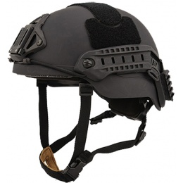 Lancer Tactical RSFR Sentry XP Airsoft Helmet - BLACK (M/L)