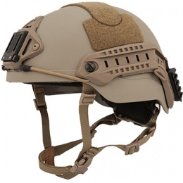 Lancer Tactical RSFR Sentry XP Airsoft Helmet - DARK EARTH (M/L)