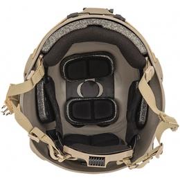 Lancer Tactical RSFR Sentry XP Airsoft Helmet - DARK EARTH (M/L)