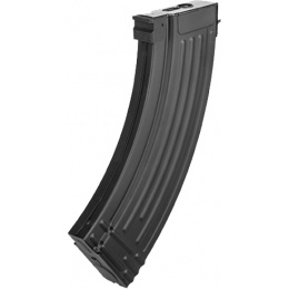JG Metal AK47 70rd Low Capacity Airsoft AEG Magazine - BLACK