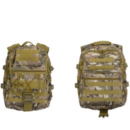 Lancer Tactical Airsoft QR MOLLE Laptop Backpack - CAMO