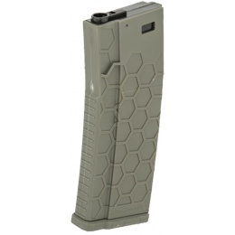 Dytac Hexmag Licensed Airsoft 120rd Midcap Magazine - OD GREEN