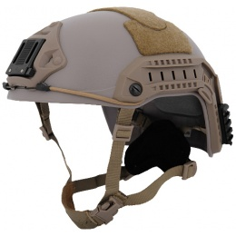 Lancer Tactical Airsoft Maritime Tactical Helmet Simple - TAN
