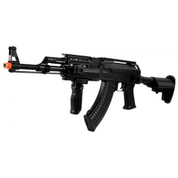 450 FPS JG Full Metal AK47 RAS TCW AEG Airsoft Rifle w/ Foregrip