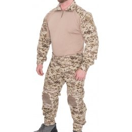 Lancer Tactical Airsoft Gen 3 Combat Shirt / Pants BDU - DESERT DIGITAL