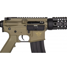 JG Works Metal M4 Carbine AEG Airsoft Rifle - DARK EARTH