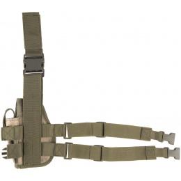 Lancer Tactical Airsoft Drop Leg Pistol Holster - AT-FG