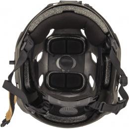 Lancer Tactical ACH Base Jump Airsoft Gear Helmet - SMOKE GRAY - L/XL
