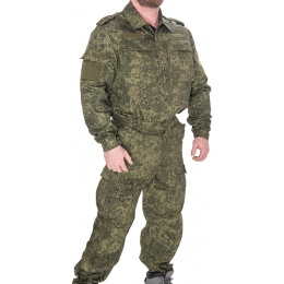Lancer Tactical Airsoft Battle Dress Uniform BDU - DIGITAL FLORA
