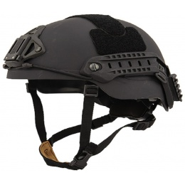 Lancer Tactical RSFR Sentry XP Airsoft Helmet - BLACK (LG/XL)