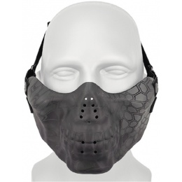 AMA Tactical Skull Lower Face Mask w/ Foam Padding - TYP