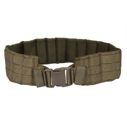 Lancer Tactical MOLLE Nylon Battle Belt - OD