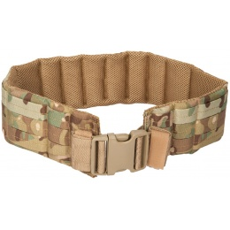 Lancer Tactical MOLLE Nylon Battle Belt - CAMO