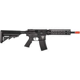 JG Works Metal M4 Carbine AEG Airsoft Rifle - BLACK