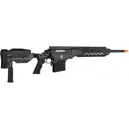 Lancer Tactical LTR338L Bolt Action Rifle w/ Folding Stock - BLACK