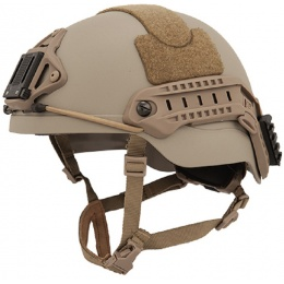 Lancer Tactical RSFR Sentry XP Airsoft Helmet - TAN (LG/XL)