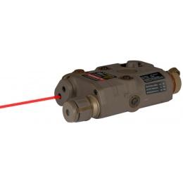 AMA PEQ-15 L.E.D. White Light/Red Laser - DARK EARTH