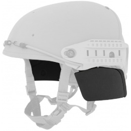 Lancer Tactical QR Helmet Side Covers - BLACK