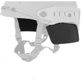 Lancer Tactical QR Helmet Side Covers - BLACK