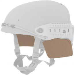 Lancer Tactical QR Helmet Side Covers - TAN